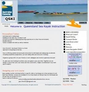 Queensland Sea Kayak Instruction